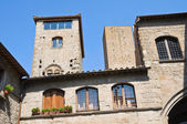 Palace of Alessandri. Viterbo. Lazio. Italy. — Stock Photo