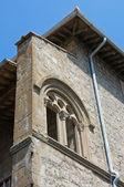 Farnese Palace. Viterbo. Lazio. Italy. — Stock Photo