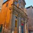 Church of St. Maria del Suffragio. Viterbo. Lazio. Italy. — Stock Photo