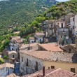 Panoramic view of Valsinni. Basilicata. Italy. - Foto Stock