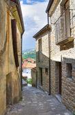 Alleyway. Valsinni. Basilicata. Italy. — Stock Photo