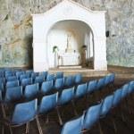 St. Maria della Grotta Sanctuary. Praia a Mare. Calabria. Italy. — Stock Photo #18463805
