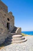 Башня Talao. Скалеа. Калабрия. Италия. — Стоковое фото