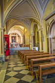 Katedralen i st. nicola. Sant'Agata di puglia. Puglia. Italien. — Stockfoto