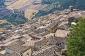 Panoramic view of Sant'Agata di Puglia. Puglia. Italy. — Foto de Stock