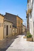 Alleyway. Sant'Agata di Puglia. Puglia. Italy. — Stock Photo
