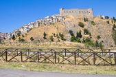 Panoramic view of Deliceto. Puglia. Italy. — Stock Photo