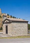 Church of St. Gerardo. Deliceto, Puglia. Italy. — 图库照片