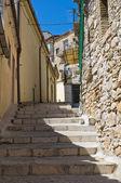 Alleyway. Sant'Agata di Puglia. Puglia. Southern Italy. — Stock Photo