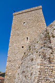 Norman swabian castle of Deliceto. Puglia. Italy. — Stock Photo