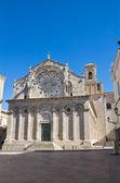 Cattedrale di troia. puglia. italia. — Foto Stock