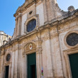 Cathedral of Nardò. Puglia. Italy. — Foto de Stock