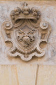 Historical palace. Galatina. Puglia. Italy. — Stock Photo