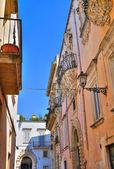 Alleyway. Galatina. Puglia. Italy. — Stock Photo