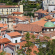 Panoramic view of Maratea. Basilicata. Italy. - Stock Photo
