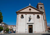Church of St. Michele Arcangelo. Trecchina. Basilicata. Italy. — Stock Photo