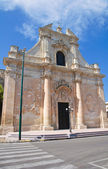 Church of St. Maria della Grazia. Galatina. Puglia. Italy. — Stock Photo