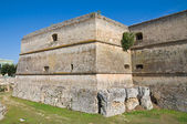 Castle of Copertino. Puglia. Italy. — Stock Photo