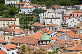 Panoramic view of Maratea. Basilicata. Italy. — Stockfoto