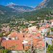 Panoramic view of Maratea. Basilicata. Italy. — Stock Photo