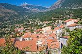 Panoramic view of Maratea. Basilicata. Italy. — Fotografia Stock