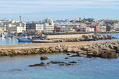Panoramic view of Gallipoli. Puglia. Southern Italy. — Stock Photo