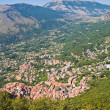 Panoramic view of Maratea. Basilicata. Southern Italy. - Стоковая фотография