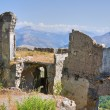 Ruins castle. Maratea. Basilicata. Italy. — Stock Photo