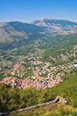 Panoramic view of Maratea. Basilicata. Southern Italy. — Stock Photo
