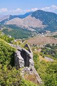 Ruins castle. Maratea. Basilicata. Italy. — Stock Photo