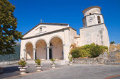 Igreja Basílica de St biagio. Maratea. Basilicata. Itália. — Fotografia Stock