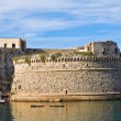Angevine-Aragonese Castle. Gallipoli. Puglia. Italy. — Stock Photo #19084943