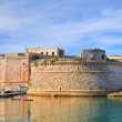 Angevine-Aragonese Castle. Gallipoli. Puglia. Italy. — Stock Photo #19091527