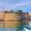 Angevine-Aragonese Castle. Gallipoli. Puglia. Italy. — Stock Photo #19091741