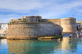 Angevine-Aragonese Castle. Gallipoli. Puglia. Italy. — Stock Photo
