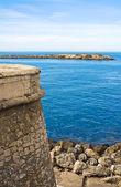 Panoramic view of Gallipoli. Puglia. Italy. — Stockfoto