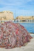 Panoramic view of Gallipoli. Puglia. Italy. — Stock Photo