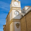 Clocktower. Gallipoli. Puglia. Italy. — Stock Photo