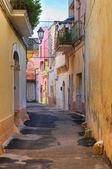 Alleyway. Galatone. Puglia. Italy. — Stockfoto