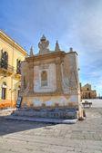 Greek fountain. Gallipoli. Puglia. Italy. — Stock Photo