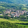 Panoramic view of Bettola. Emilia-Romagna. Italy. — Foto Stock #19152497