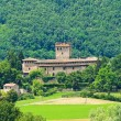 Castle of Montechiaro. Emilia-Romagna. Italy. - Stock Photo
