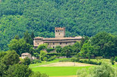 Castle of Montechiaro. Emilia-Romagna. Italy. — Stock Photo