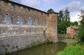 Castle of Lisignano. Emilia-Romagna. Italy. — Stock Photo