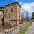 Stock Photo: Castle of Agazzano. Emilia-Romagna. Italy.