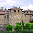 Castle of Agazzano. Emilia-Romagna. Italy. - Stock Photo