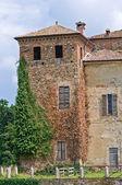 Castillo de agazzano. emilia-romaña. italia. — Foto de Stock