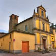 Church of St. Rocco. Ponte dell'Olio. Emilia-Romagna. Italy. - Stock Photo