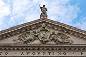 Basilica of St. Agostino. Piacenza. Emilia-Romagna. Italy. — Stock Photo