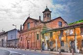 Church of St. Teresa. Piacenza. Emilia-Romagna. Italy. — Stock Photo